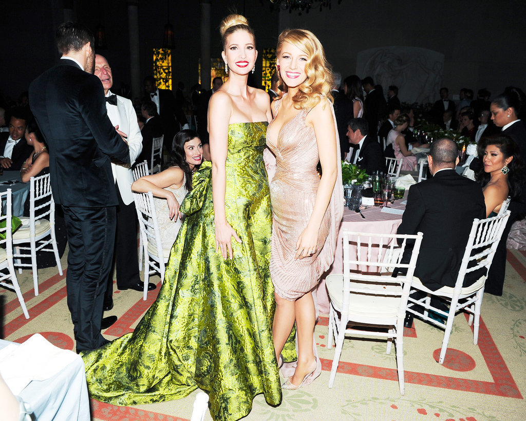 Ivanka Trump and Blake Lively posed together.