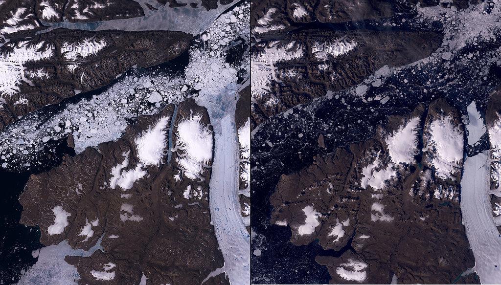 Petermann Glacier Melt, Greenland