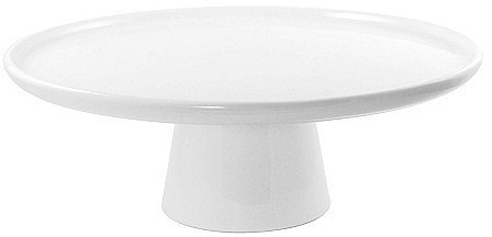 Footed Porcelain Cake Stand, Large