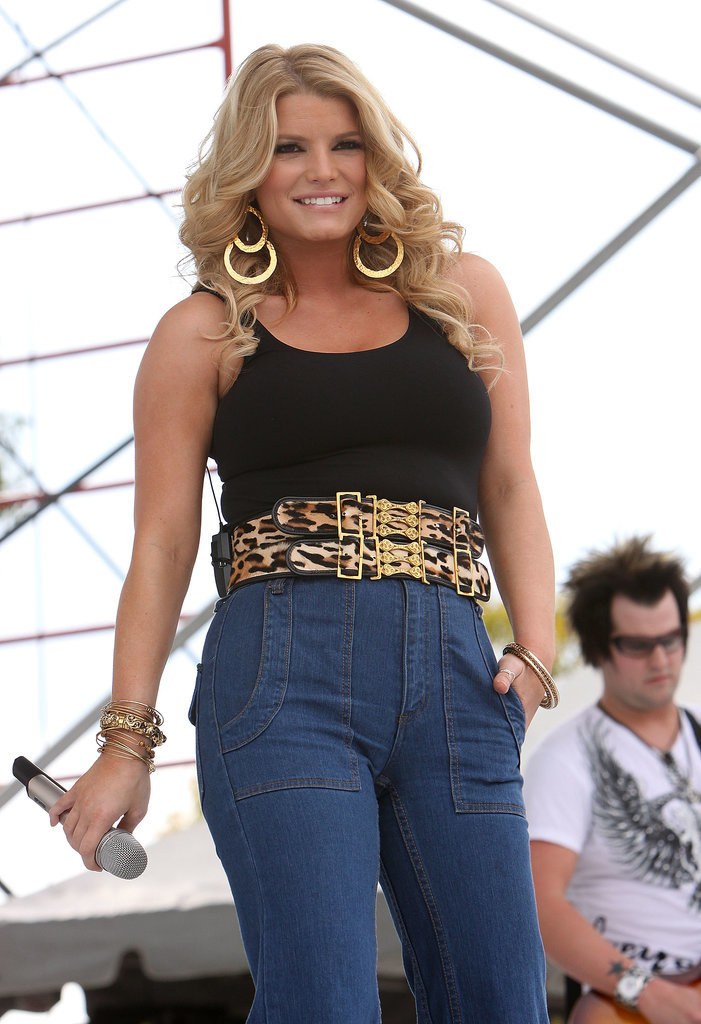 Jessica Simpson at the 99.9 Kiss Country Chili Cook-Off