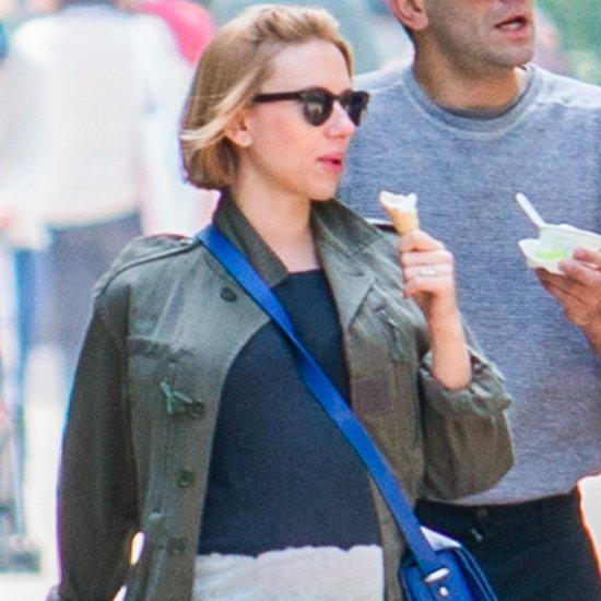 Scarlett Johansson's Baby Bump Pictures