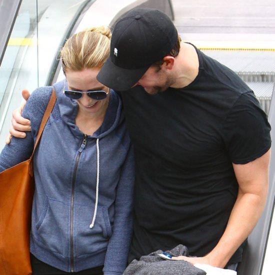 John Krasinski and Emily Blunt After Workout in LA