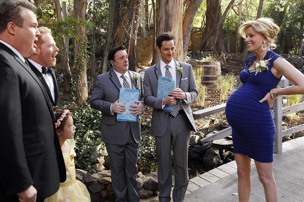And wow! Sal is really pregnant.