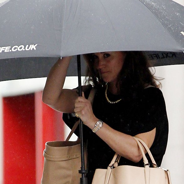 Pippa Middleton Carrying Coach Borough Bag