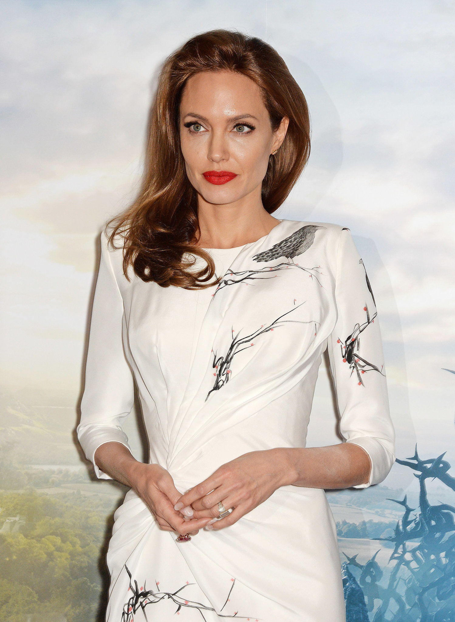 Angelina Jolie Mixes Humanitarian Work With Movie Duties in London