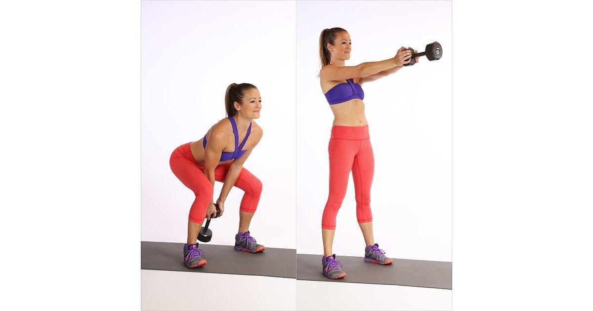Dumbell swinging exercises