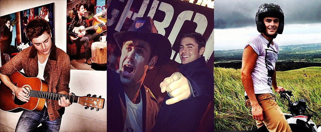16 Reasons Zac Efron's Instagram Is Amazing