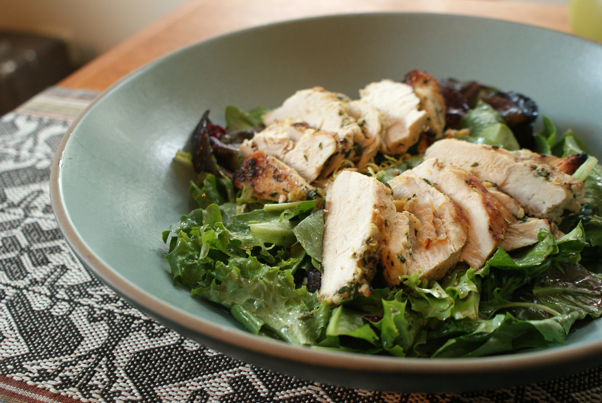 Grilled Chicken Salad With Herb Vinaigrette