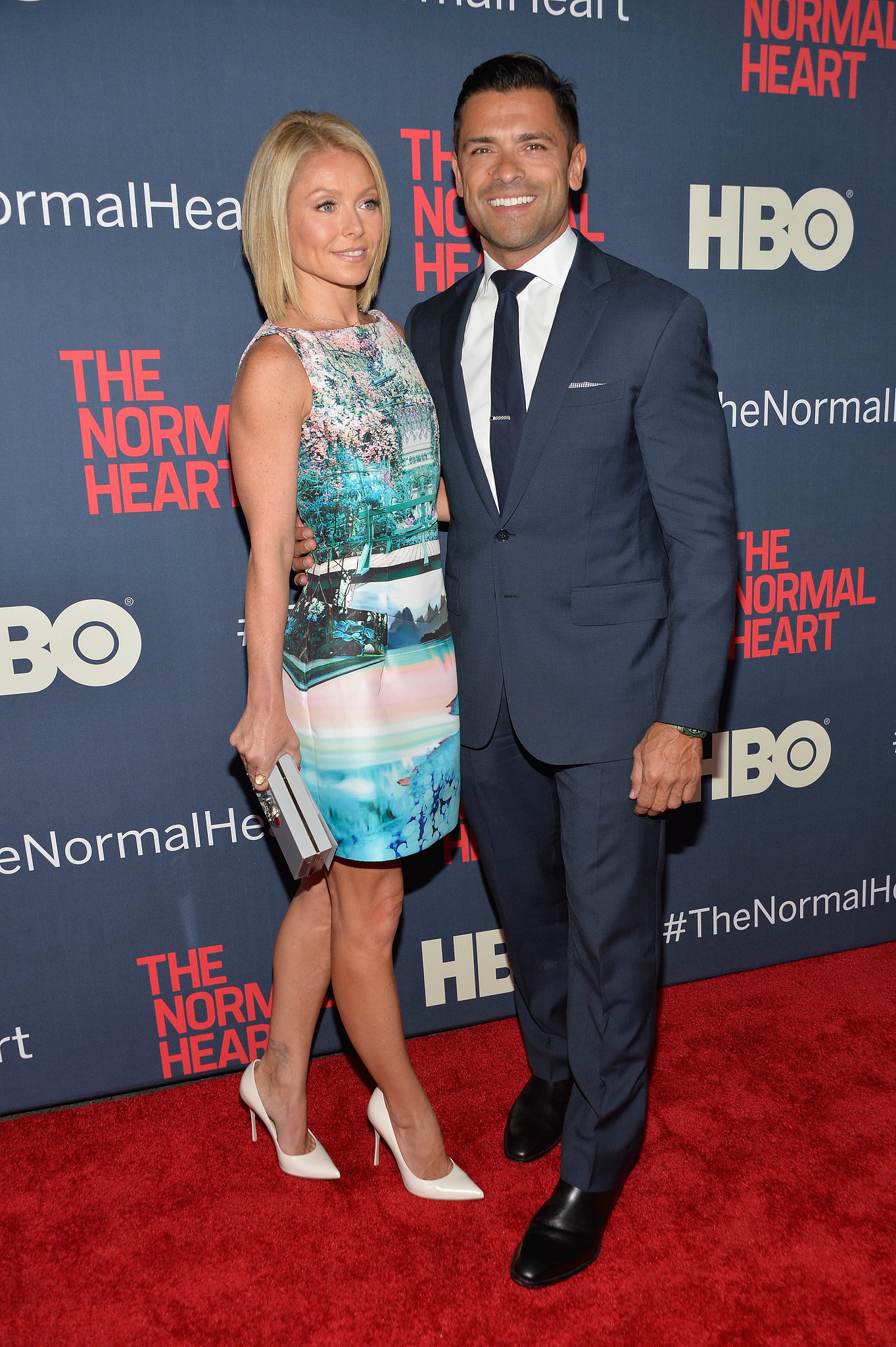 Kelly Ripa and Mark Consuelos arrived in style.