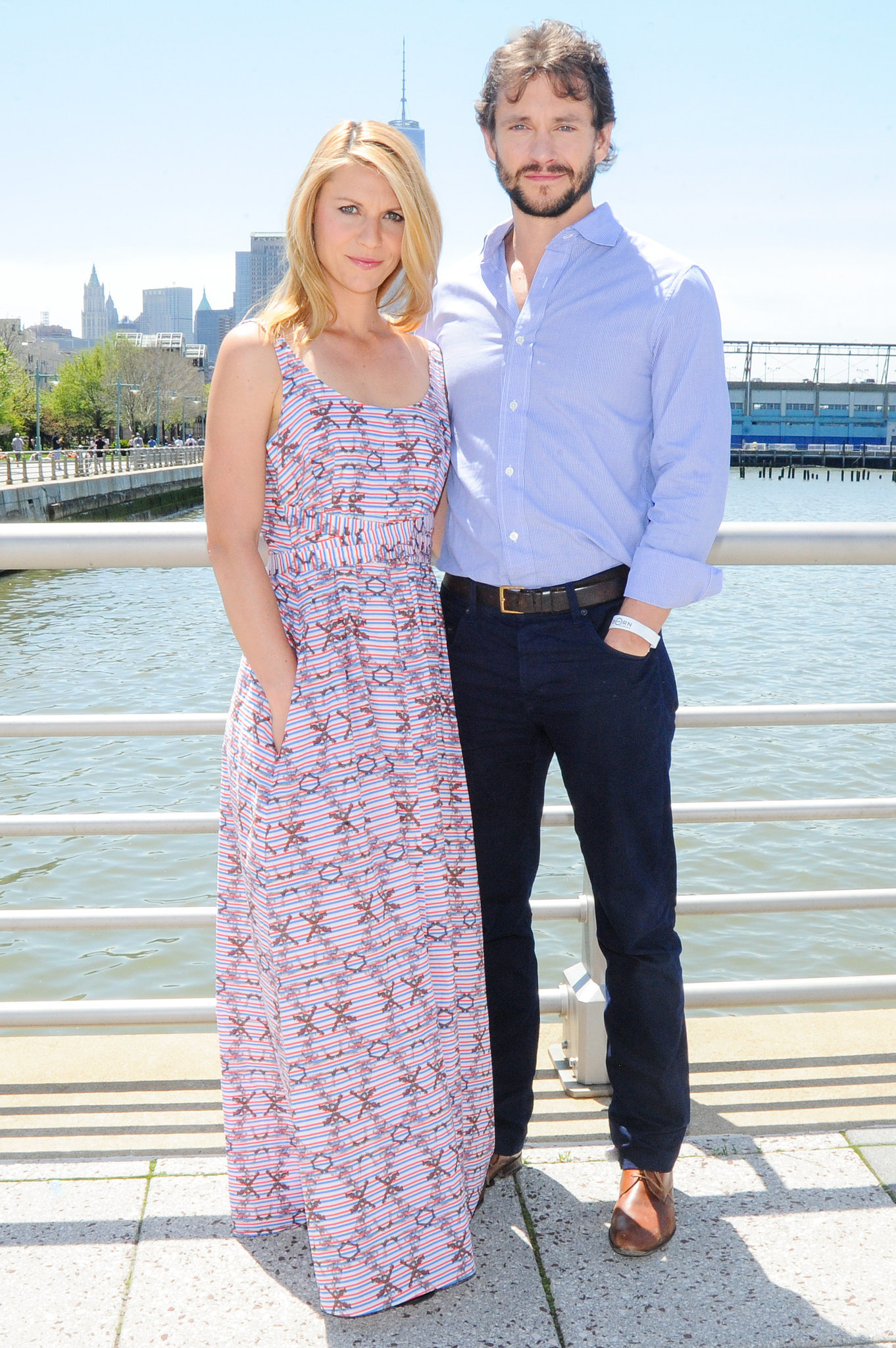 Claire Danes and Hugh Dancy left their son, Cyrus, at home.