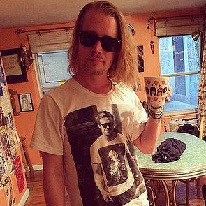 Macaulay Culkin in a Ryan Gosling T-Shirt   Picture