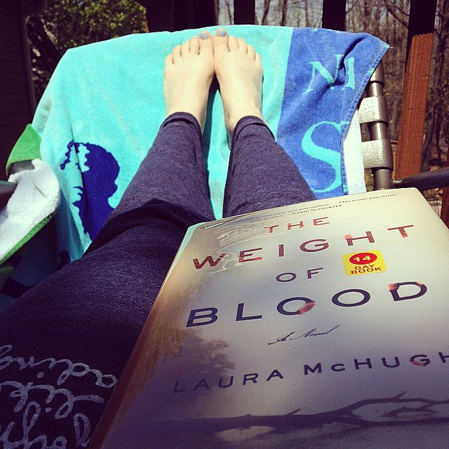 Krobertson88 spent Easter reading The Weight of Blood.