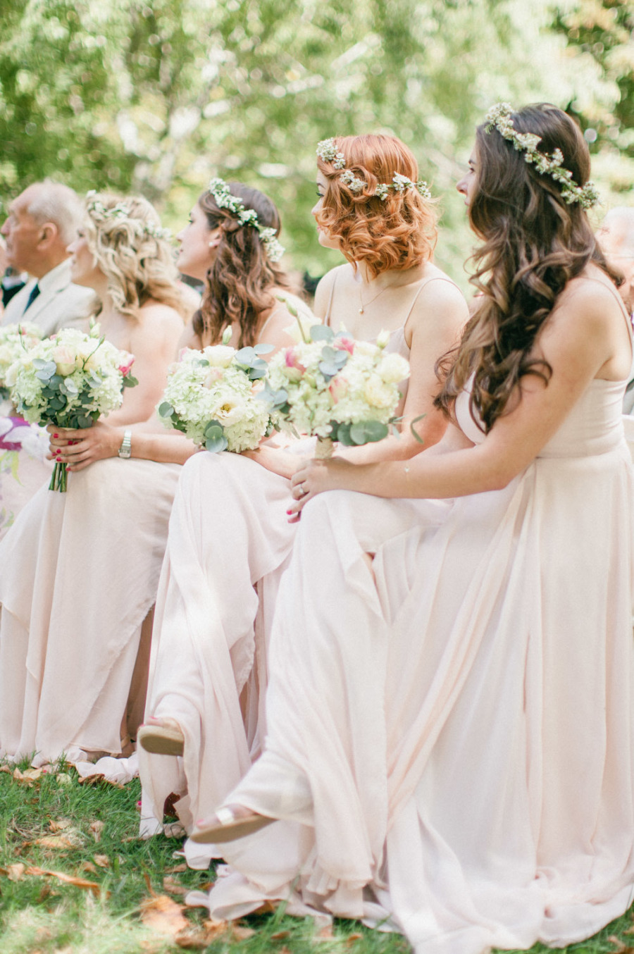 Adorned Bridesmaids