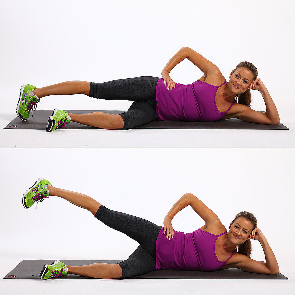 Knee Pain: Side-Lying Leg Lifts
