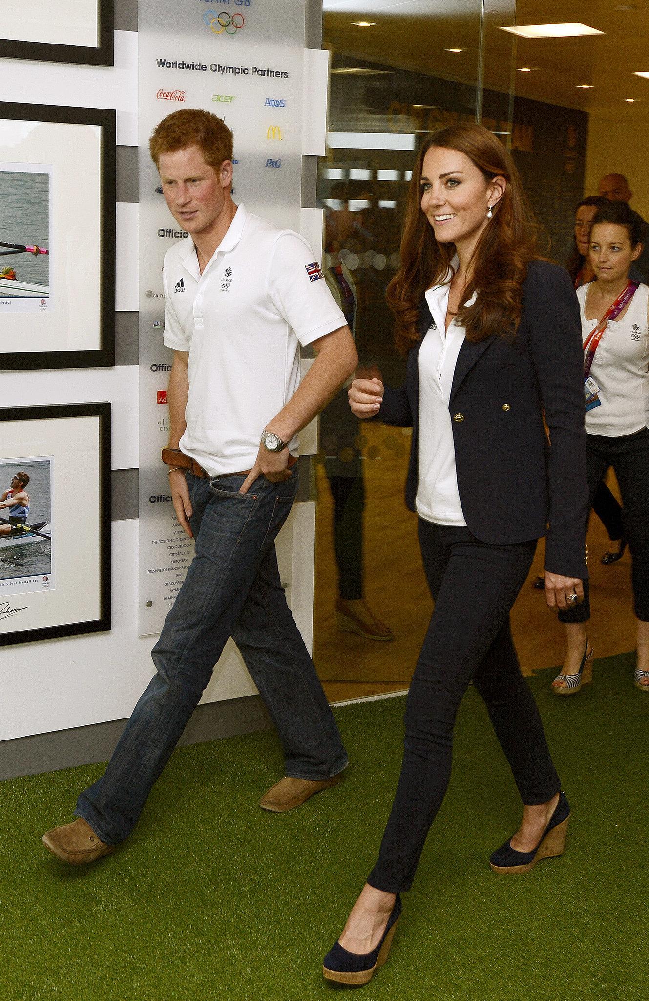 Kate Middleton Wearing Stuart Weitzman Corkswoon Wedges