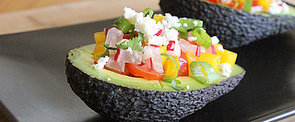 Taste the Rainbow: Salad-Stuffed Avocado