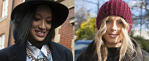 Get Schooled on How to Wear Your Hair Under a Hat This Winter