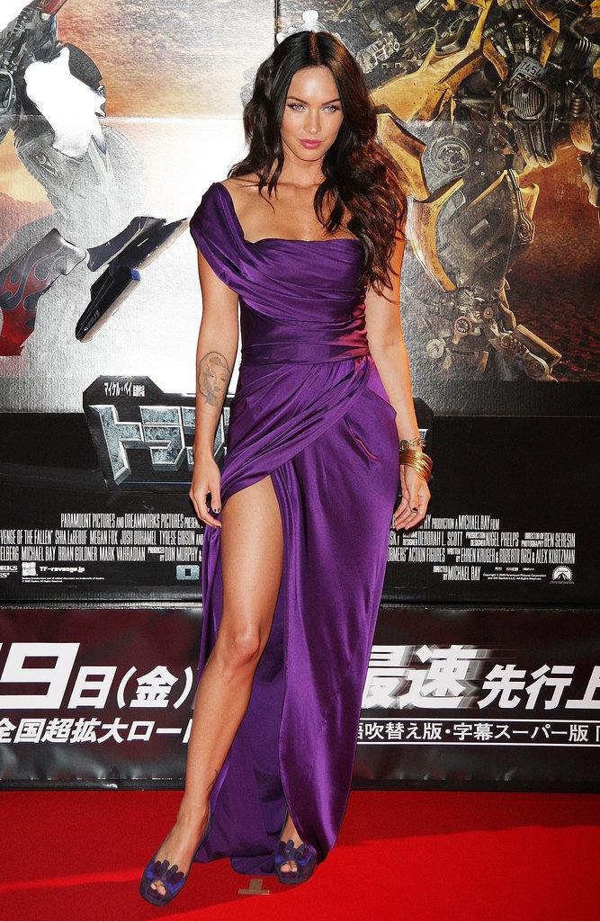 Megan Fox in Donna Karan at the 2009 Transformers: Revenge of the Fallen World Premiere