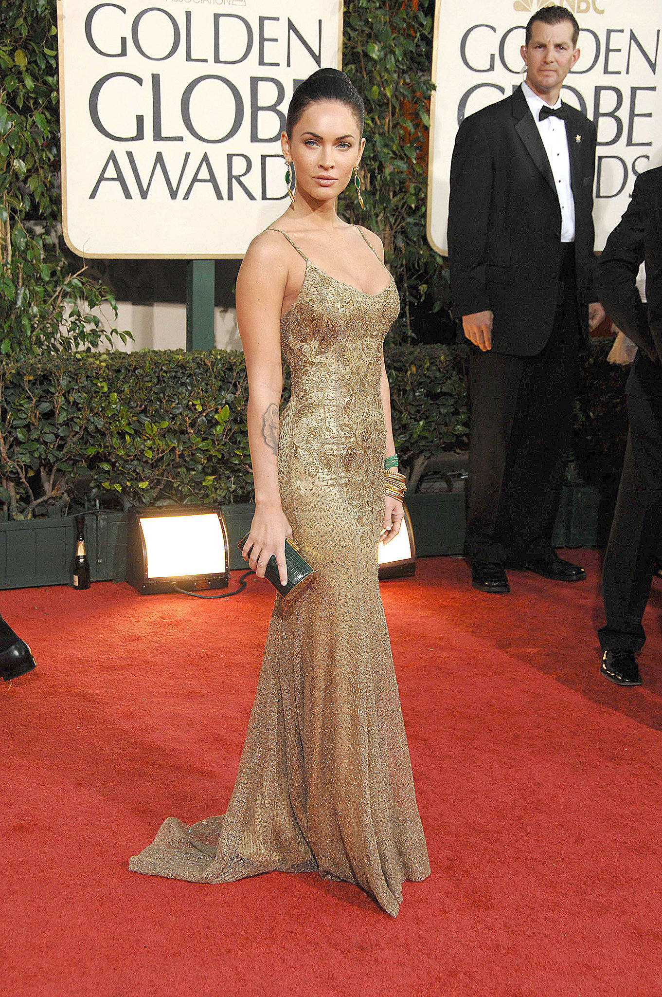 Megan Fox in Ralph Lauren at the 2009 Golden Globes