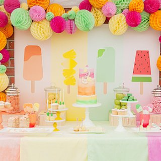 Popsicle-Themed Birthday Party
