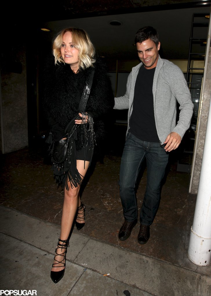 Malin Akerman and Colin Egglesfield