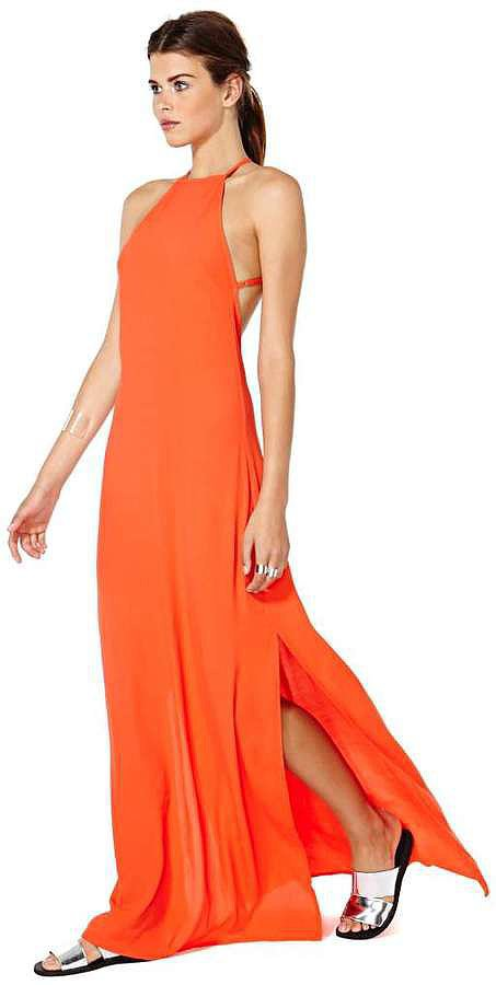 Nasty Gal Flame Dress