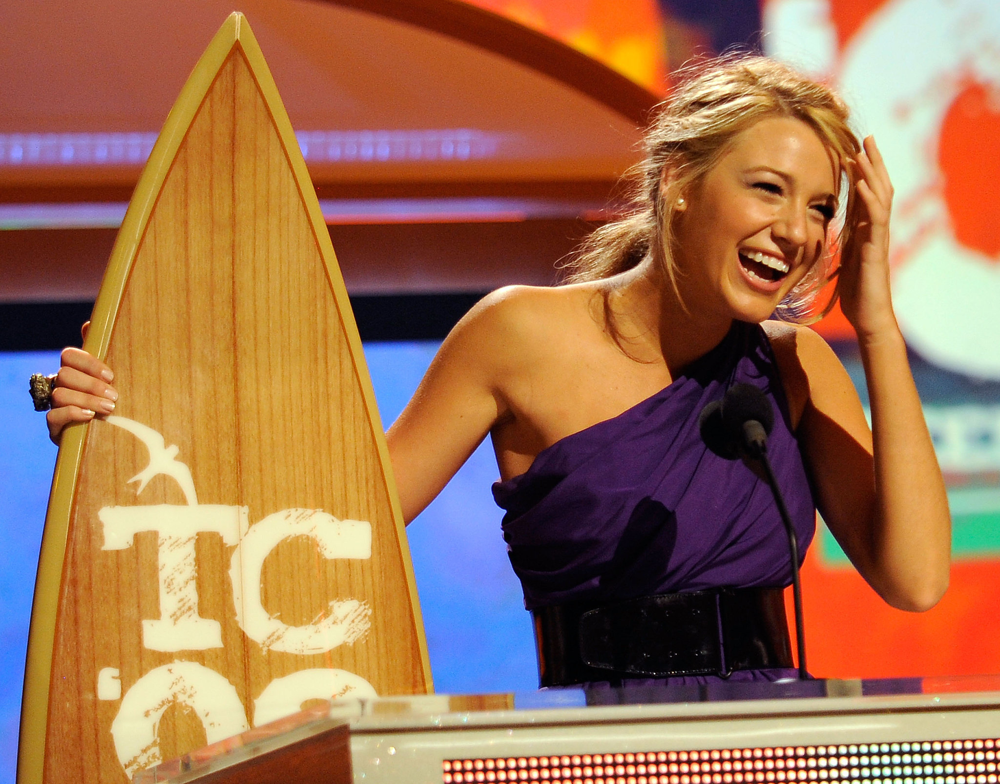 When She Hit the Award-Show Circuit