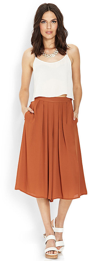 Forever 21 Pleated Culottes
