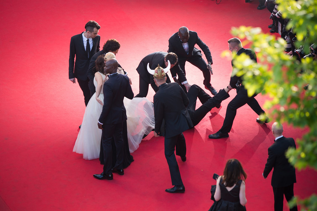 The Red Carpet Crotch Hugger Strikes Again at Cannes