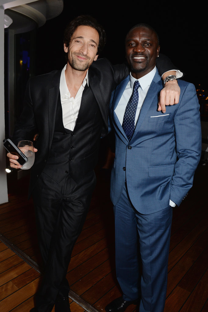 Adrien Brody and director Antoine Fuqua hung out.