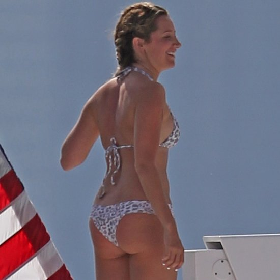 Ashley Tisdale's Bachelorette Weekend on a Yacht in Miami