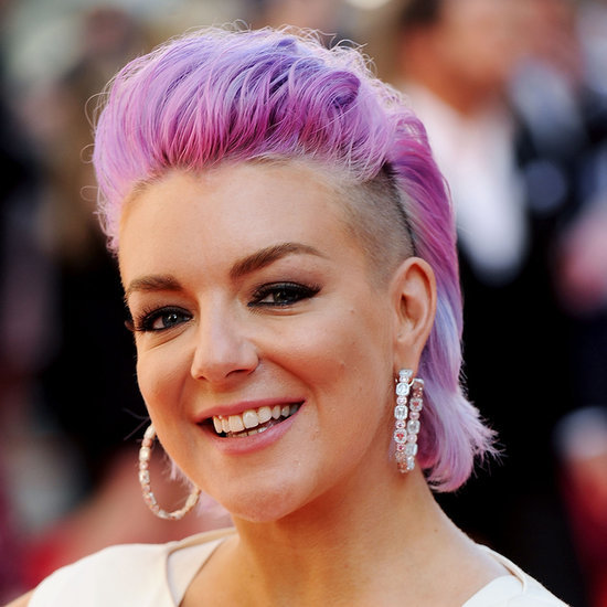 Sheridan Smith Shaves Her Hair and Dyes It Lilac