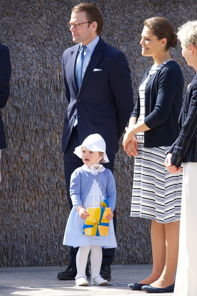 Princess Estelle of Sweden was all grown up as she made her first official appearance in May 2014.