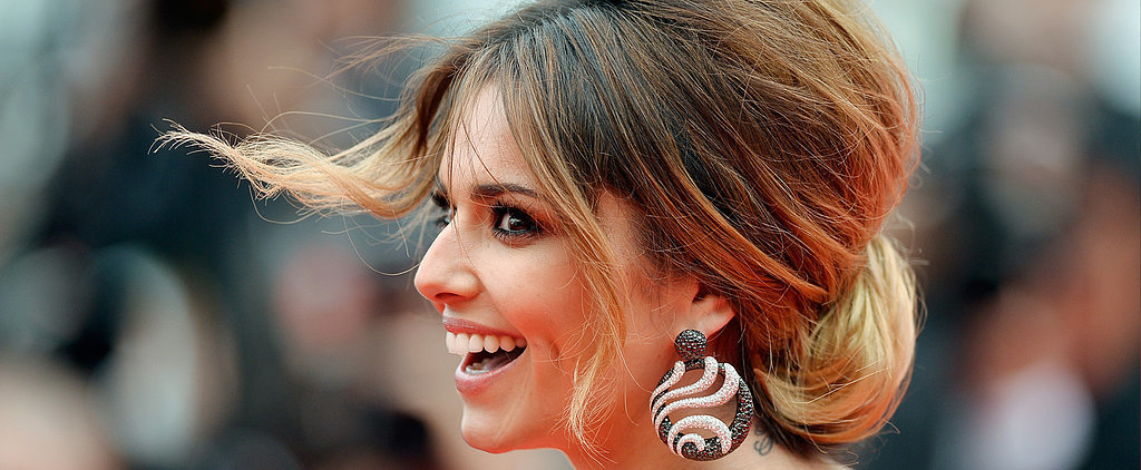 """Cheryl Cole's Updo Is One You """"Cannes"""" Try at Home"""