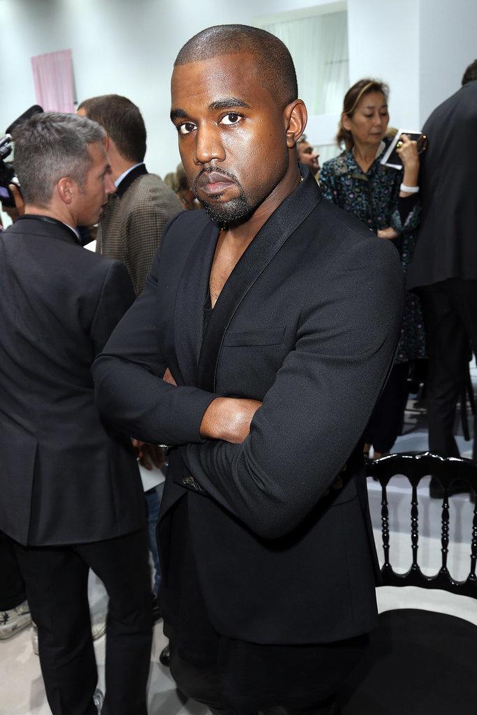Paris Fashion Shows Won't Make Him Crack a Smile