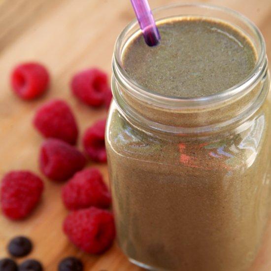 Dessert For Breakfast? 350-Calorie High-Protein Chocolate Milkshake Smoothie