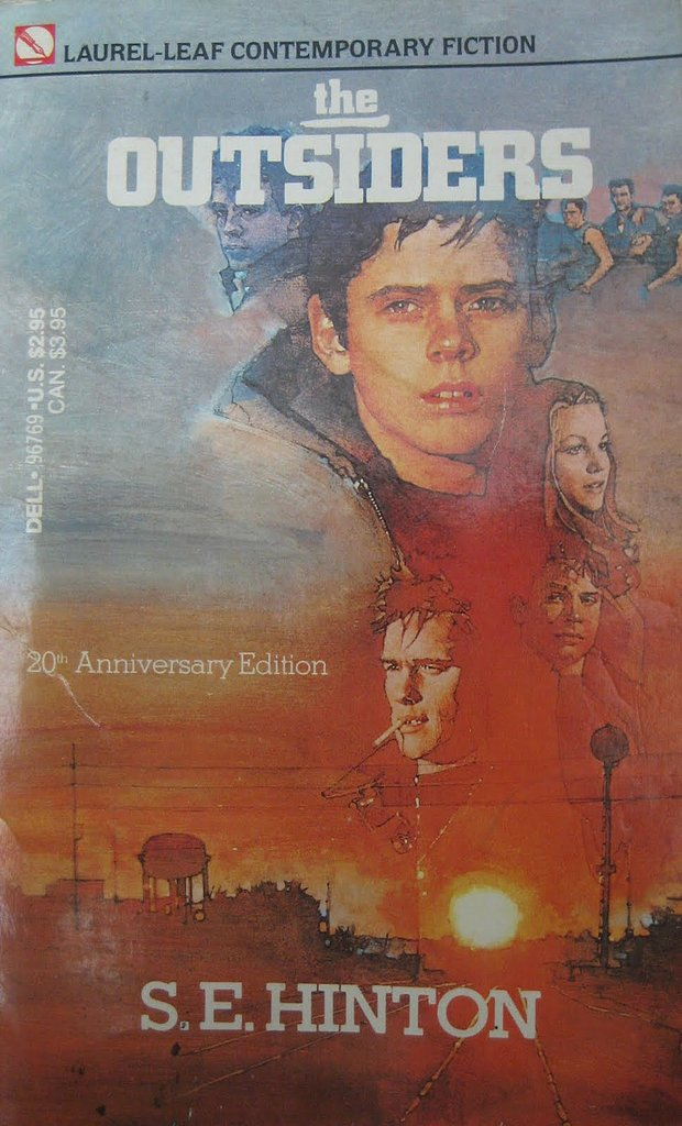 Oklahoma The Outsiders By S E Hinton 50 Books 50
