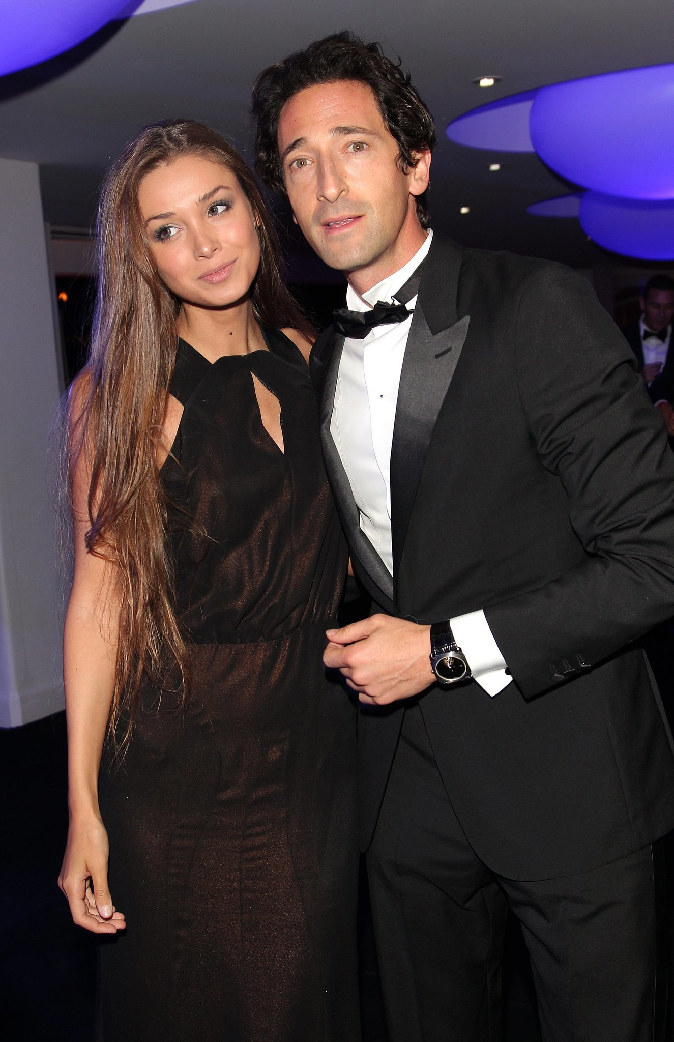 Adrien Brody and his g... Adrien Brody Married