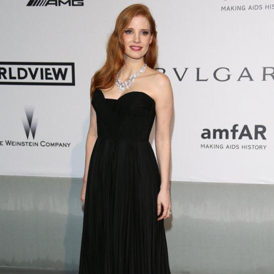 Celebrities at the amfAR Cinema Against AIDS Gala 2014