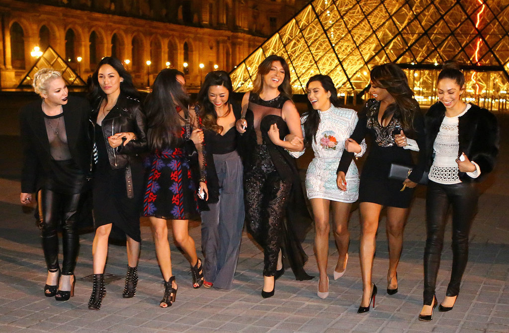 Kim Kardashian Goes Sightseeing During Her Bachelorette Party