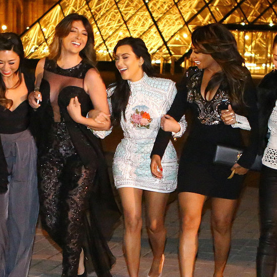 Kim Kardashian's Bachelorette Party in Paris