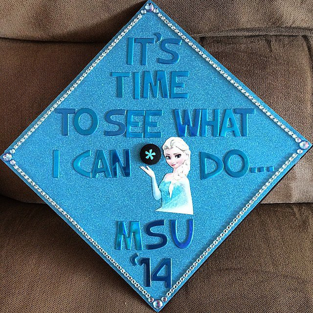 The best grad cap idea this year?  Source: Instagram