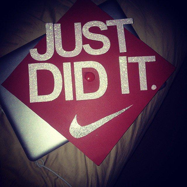 You did it! Source: Instagram user j3nnxbunny