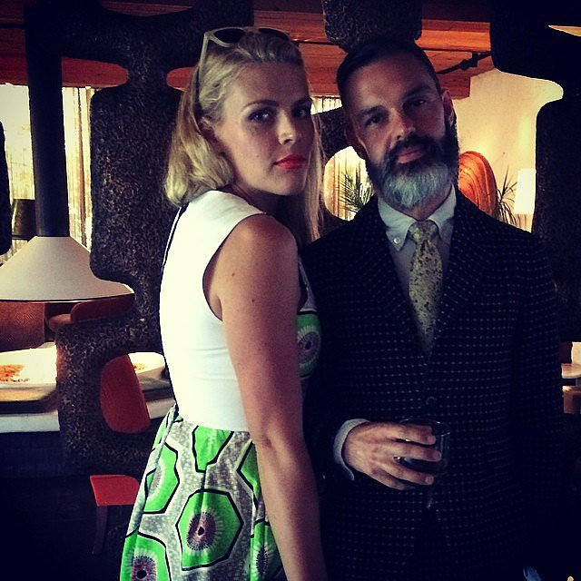 Busy Philipps and her husband, Marc Silverstein, attended a wedding in Palm Springs. Source: Instagram user busyphilipps
