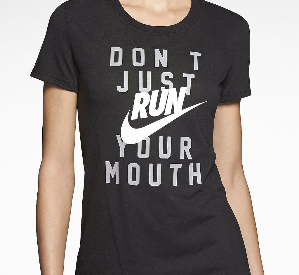 Don't Just Run Your Mouth