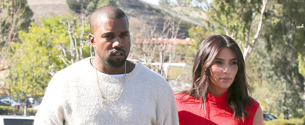Kim and Kanye Head to Ireland For Their Honeymoon