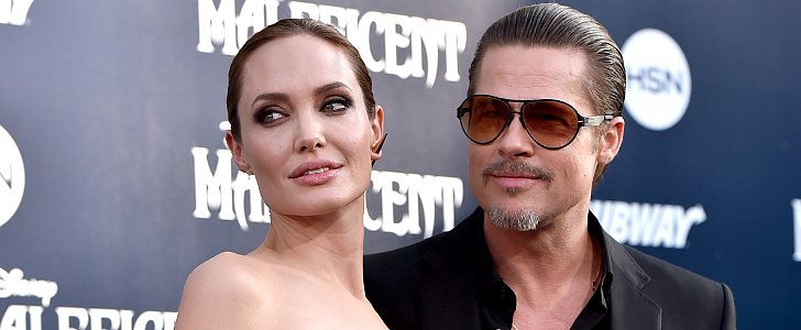 Angelina Jolie and Brad Pitt Match Up For Maleficent's LA Premiere