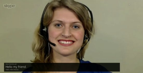 Game Over: Skype Translates Language in Real Time