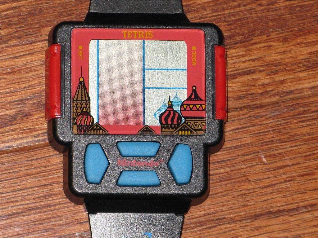 Tetris Watch