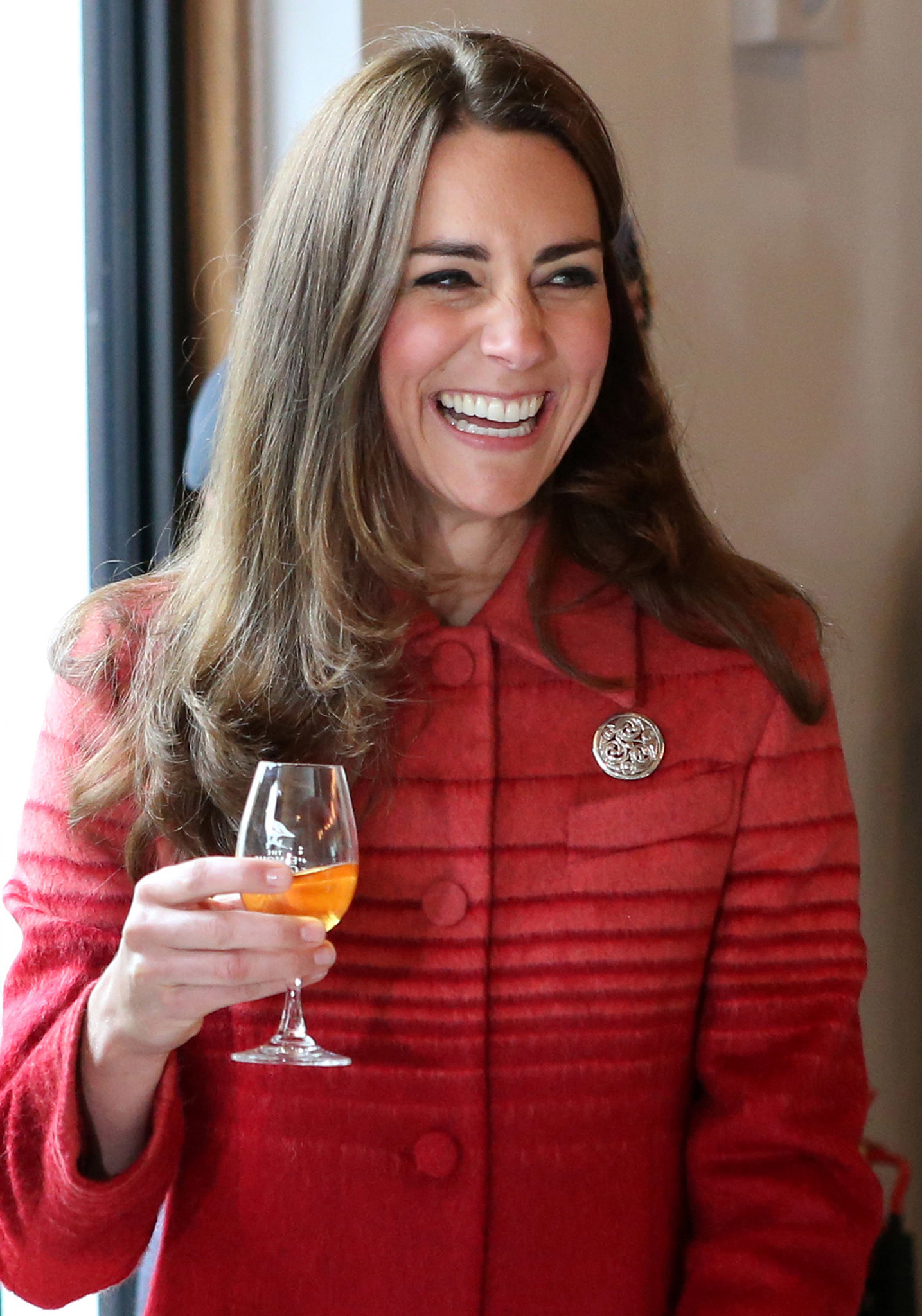 Will and Kate Sample Whisky in Scotland!
